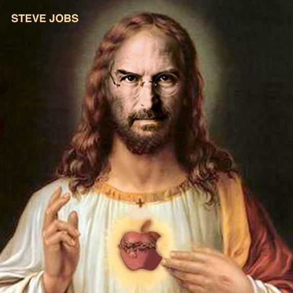 steve jobs jesus